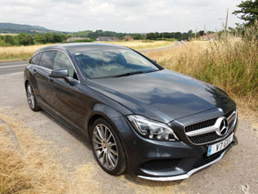 Absolute Anywhere Wedding - Mercedes-Benz CLS Shooting Brake AMG